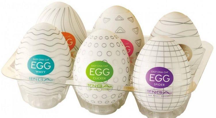 Huevo Tenga Primer Plano